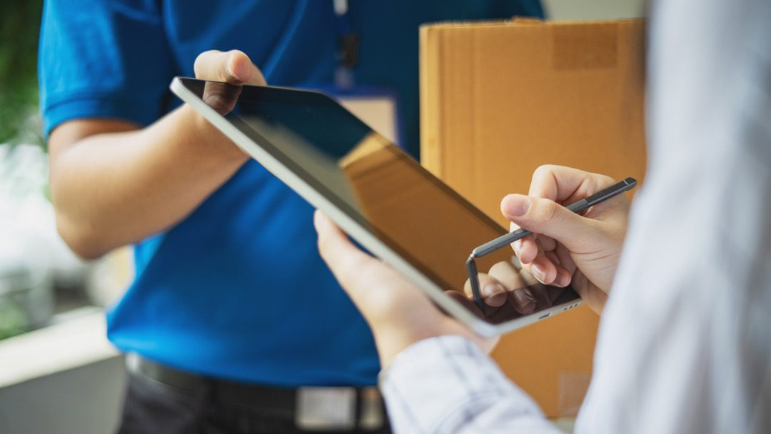 74% of UK shippers using 'signed for' services for their deliveries